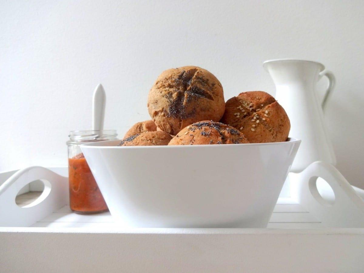 Protein Fitness-Brötchen für das Frühstück