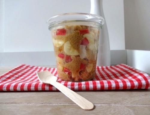 """Protein Quinoa-Müsli """"to go"""" für den Morgen"""